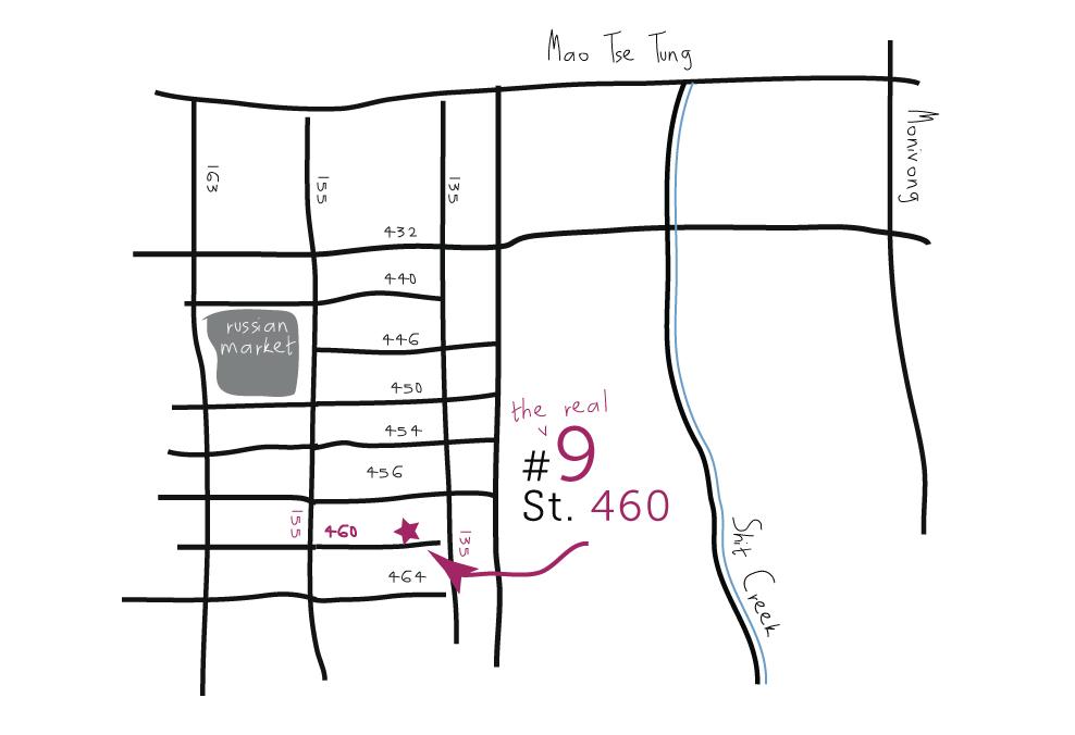 House #9 Street 460 near Russian Market